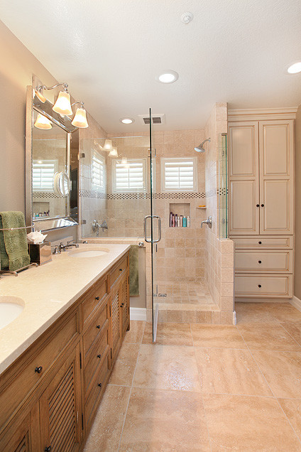 kitchen and master bath remodel ritz pointe traditional bathroom tile