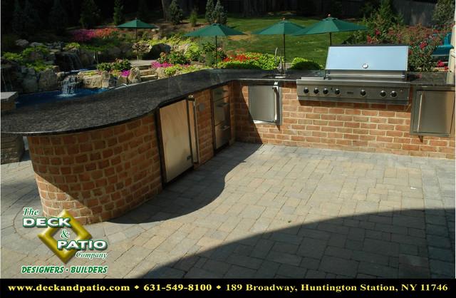 Patio, Patios, Stone and paver and brick patios, pool patios contemporary-patio