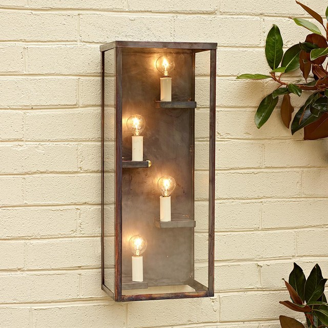 Modern Shelf Outdoor Light Display And Wall Shelves By