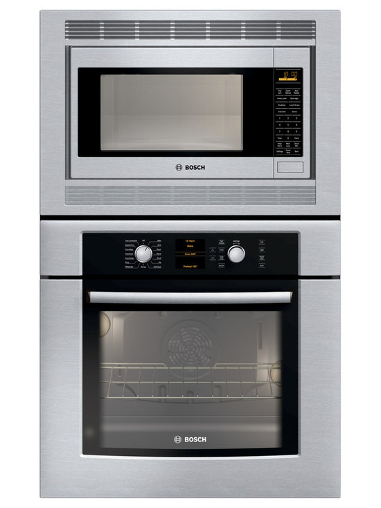 "Bosch 30"" Combination Wall Oven With Convection, Stainless Steel 