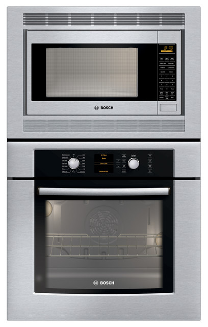 """Bosch 30"""" Combination Wall Oven With Convection, Stainless Steel 