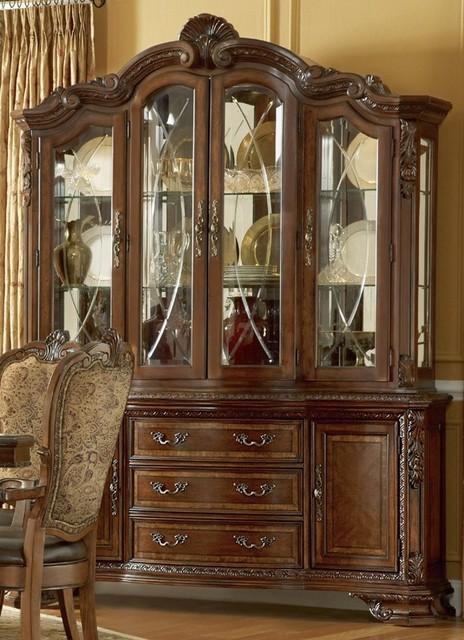 ART Furniture - Old World China Cabinet - ART-143243-143242-2606 - Traditional - China Cabinets ...