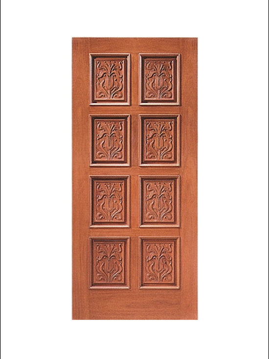 Carved and Mansion Entry Doors Model # 2 -