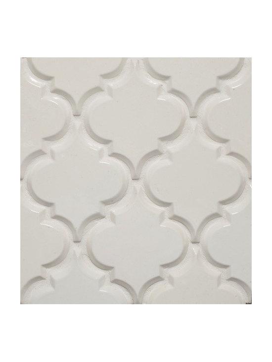 Beveled Arabesque Tile -
