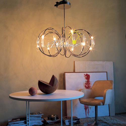 Hook Chandelier modern-chandeliers