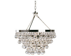 Bling Chandelier by  Robert Abbey modern chandeliers