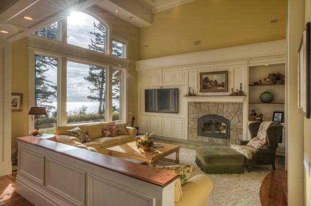 A South Camano Island Residence traditional-living-room