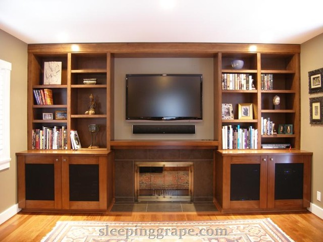 Audio Visual / Media Rooms contemporary media room