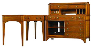 Credenza/Printer Unit Only traditional-desks-and-hutches