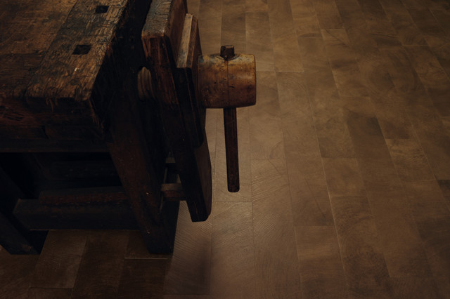 Crosscut Wood Flooring : Crosscut wood porcelain look tile contemporary