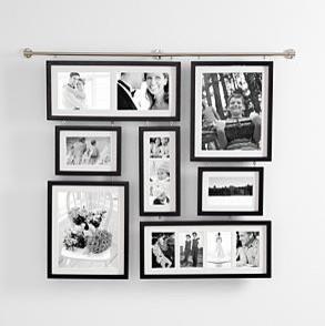 deluxe wall gallery frame modern picture frames by redenvelope. Black Bedroom Furniture Sets. Home Design Ideas