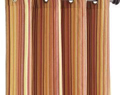 Pallas Stripe Window Panel contemporary-curtains