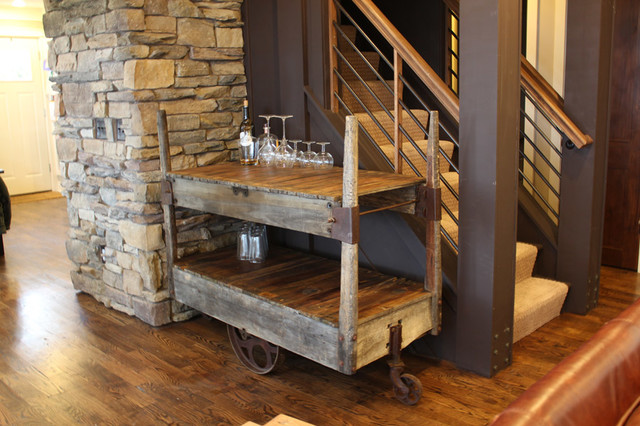 Rustic Bar Cart Furniture Table Styles
