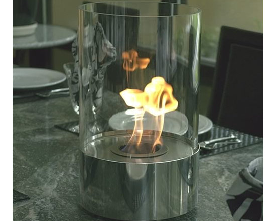 Accenda Tabletop Fireplace - Dancing flames using bio-ethanol fuel