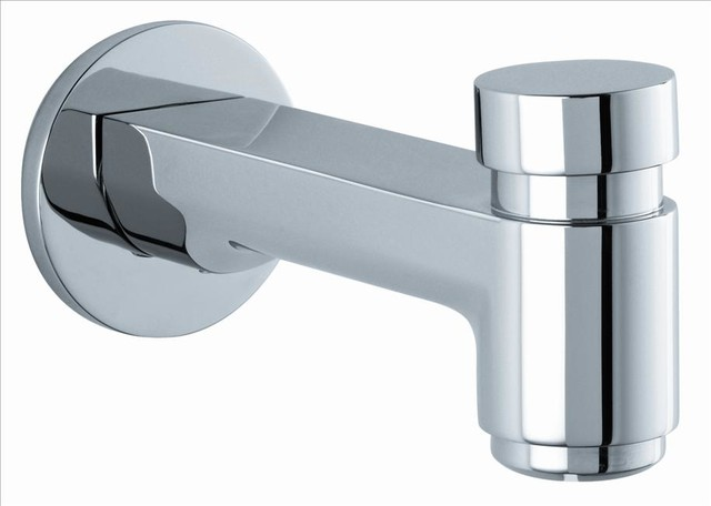Hansgrohe 14414831 S Tub Spout w/Diverter contemporary-kitchen-faucets
