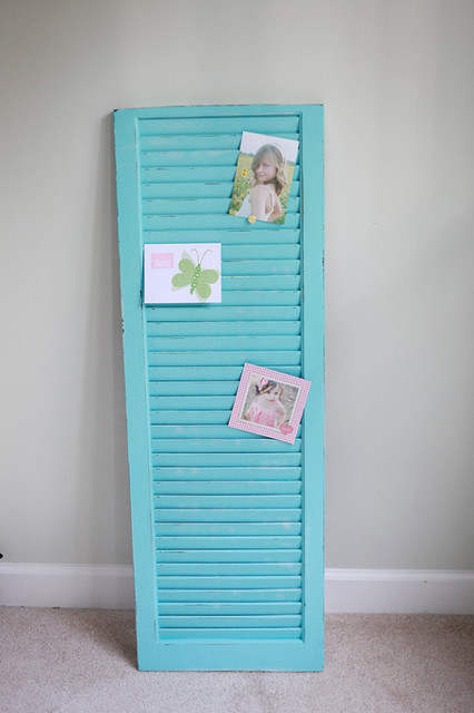 Old Painted Shutter By The Painted Porch tropical accessories and decor