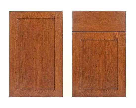 Autumn Cherry - Cherry Wood Sample Door