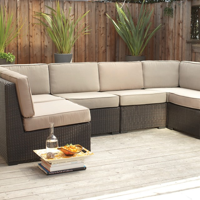 Filum Modular Sectional Modern Outdoor Sofas Other Metro By Scandinavian Designs