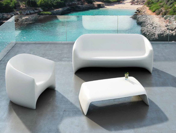 Vondom Blow Sofa Contemporary Garden Sofas other metro by Nest