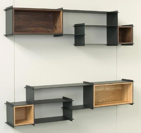 Hivemindesign - Crux Wall Unit - Modern - Display And Wall ...