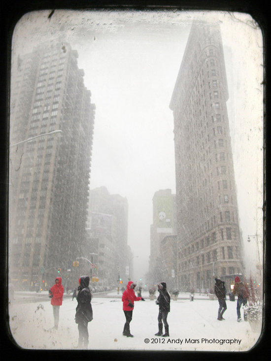 Snowstorm Flation Building - © Andy Mars Photography