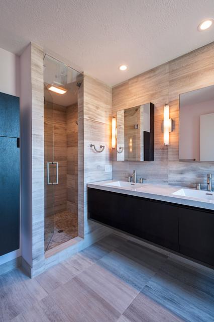 Contemporary Interior Renovation contemporary-bathroom