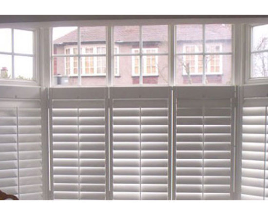 Faux Wood Cafe Style Shutters -