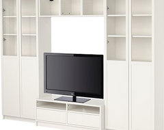 BILLY Bookcase combination with TV bench modern-entertainment-centers-and-tv-stands