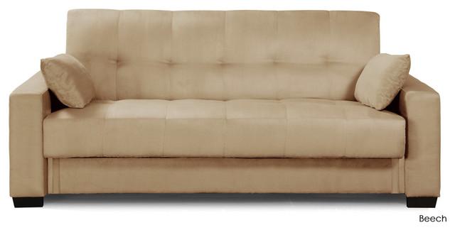 Napa Convertible Sofa Bed Beech Modern Futons By Inmod