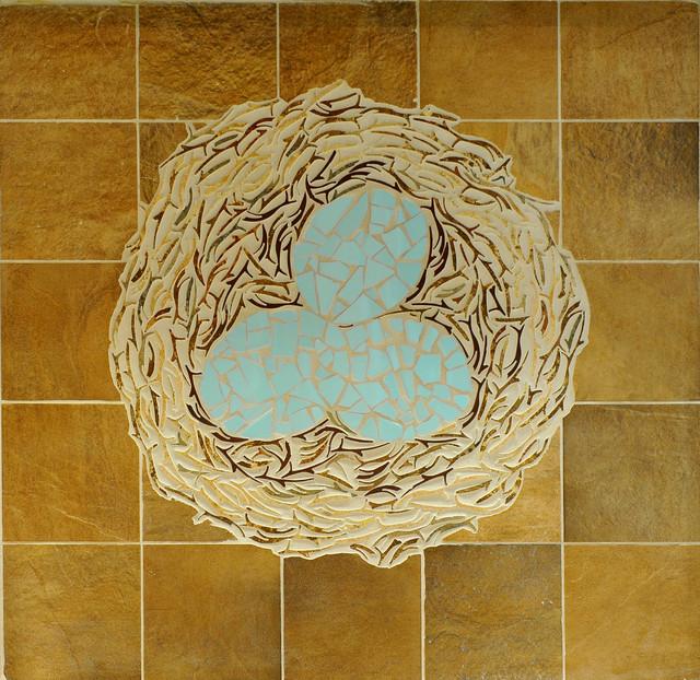 Custom Mosaics floor-tiles