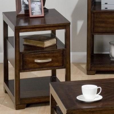 Jofran Binali Birch Chairside Table modern-bar-tables
