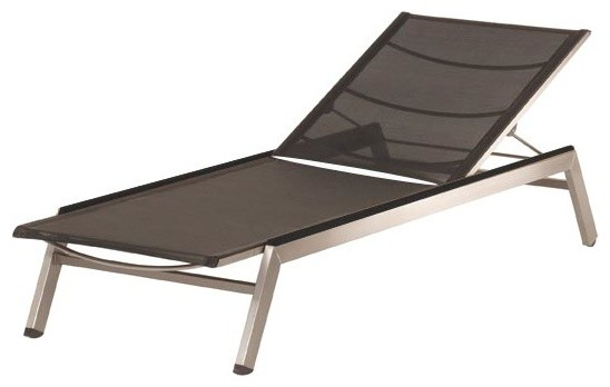 Barlow Tyrie - Equinox Sun Lounger - Charcoal modern-outdoor-chaise-lounges
