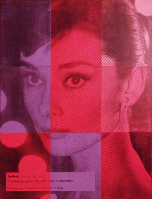 i ART Audrey Hepburn contemporary-artwork