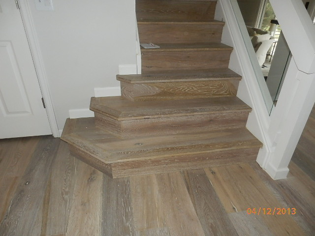 White Oak Oiled Finish With Stain Traditional