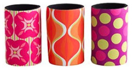 Colorful Koozies eclectic-wine-and-bar-tools