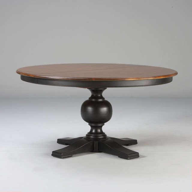 "Custom classics cooper round table 60"" traditional-dining-tables"