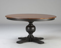 Custom classics cooper round table 60 traditional dining tables