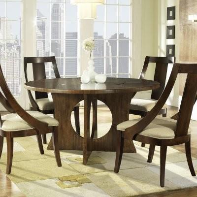 Somerton Dwelling Manhattan Pedestal Dining Table modern-dining-tables
