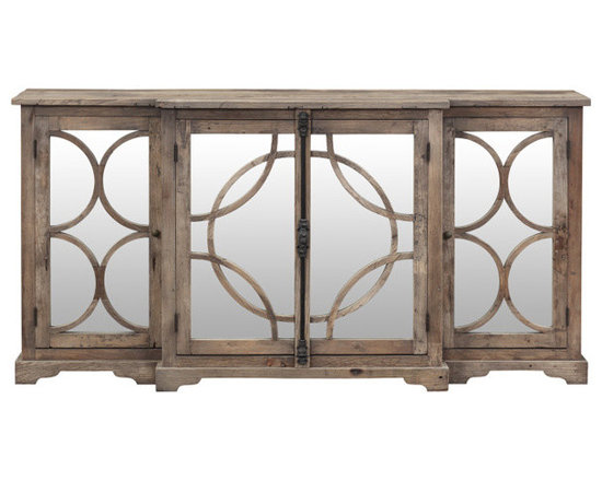Go Home - Caldwell Country Sideboard - A move toward nurturing a slower way of life, growing and harvesting your own food, line drying linens and re purposing useful objects inspires our Rural Chic collection of furniture, lighting, textiles and accessories.