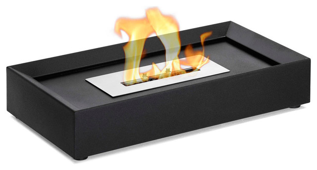 Serpa table top ethanol fireplace contemporary for Ethanol outdoor fire pit