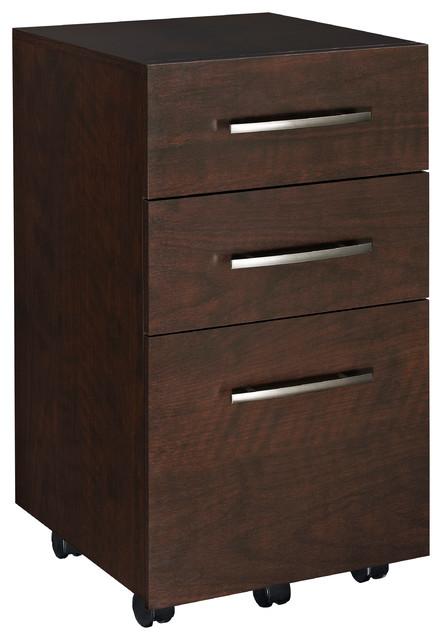 3-Drawer Mobile File Cabinet - Contemporary - Filing Cabinets - by ClosetMaid