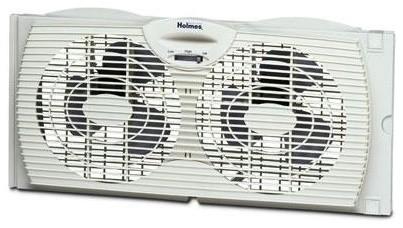 Holmes Dual-blade Window Fan - contemporary - fans - by HPP Enterprises