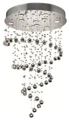 Elegant Lighting 2033W8C Maxim 4 Light Wall Sconces in Chrome contemporary-chandeliers
