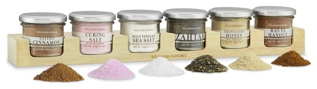 Contemporary Spice Jars And Spice Racks by Williams-Sonoma