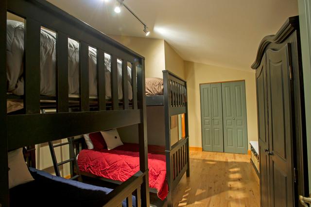French Garden Quarter - Guest Bedroom After, Breckenridge, Colorado contemporary-kids