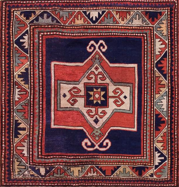 Antique Caucasian Rugs eclectic-rugs