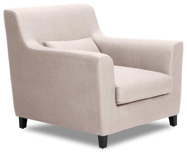 Trafalgar armchair contemporary armchairs and accent for Modern armchair