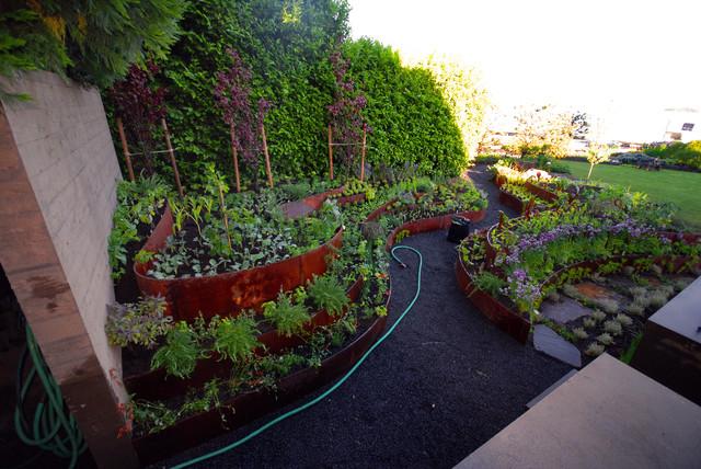 Gardens contemporary-landscape