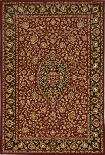 "American Heirloom Callaway 7'10"" x 10'10"" Claret Rug contemporary-rugs"