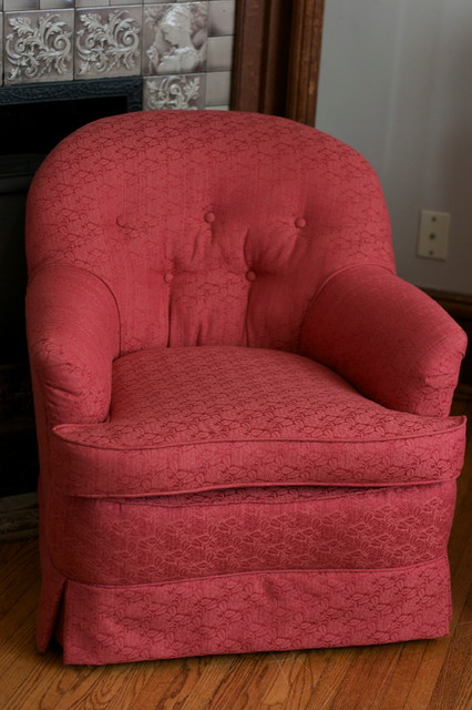 Re-upholstery traditional-living-room-chairs